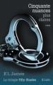 Couverture Cinquante nuances de Grey, tome 3 : Cinquante nuances plus claires Editions JC Lattès (Romans étrangers) 2013