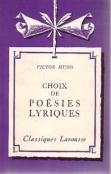 Couverture Choix de poésies lyriques