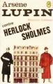 Couverture Arsène Lupin contre Herlock Sholmès Editions Le Livre de Poche 1963