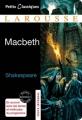 Couverture Macbeth Editions Larousse (Petits classiques) 2011
