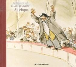 Couverture Ernest et Célestine au cirque