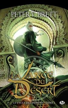 Couverture Le Cycle des démons, tome 2 : La Lance du désert