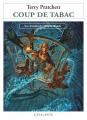 Couverture Les Annales du Disque-Monde, tome 34 : Coup de tabac Editions L'Atalante (La Dentelle du cygne) 2012