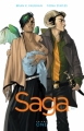 Couverture Saga, tome 1 Editions Image Comics 2012