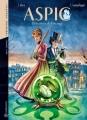 Couverture Aspic, Détectives de l'étrange, intégrale, tome 1 : Premières enquêtes Editions Quadrants 2012