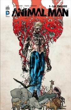 Couverture Animal Man (Renaissance), tome 1 : La chasse