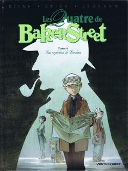 Couverture Les Quatre de Baker Street, tome 4 : Les orphelins de Londres