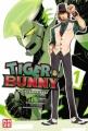 Couverture Tiger & Bunny, tome 01 Editions Kazé (Shônen up !) 2012