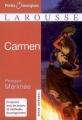 Couverture Carmen (roman) Editions Larousse (Petits classiques) 2008