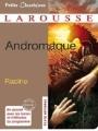 Couverture Andromaque Editions Larousse (Petits classiques) 2012
