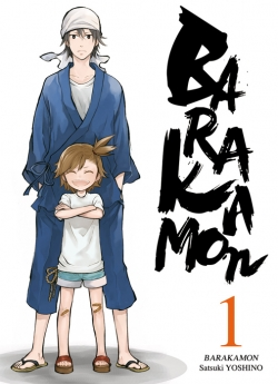 Couverture Barakamon, tome 01