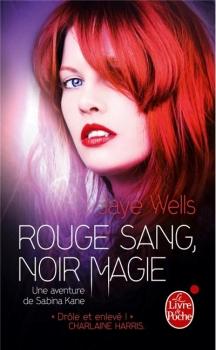 Couverture Une aventure de Sabina Kane, tome 2 : Rouge sang, noir magie