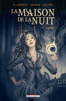 Couverture La Maison de la nuit (comics), tome 1 : La Marque