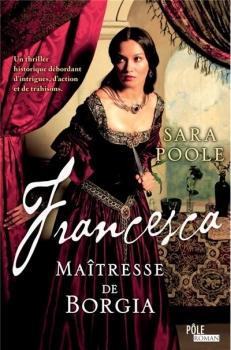 Couverture Francesca : Maîtresse de Borgia