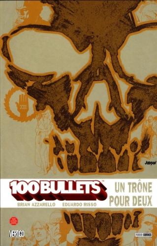 Couverture 100 Bullets (Broché), tome 14 : Un trône pour deux