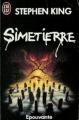 Couverture Simetierre Editions J'ai lu (Épouvante) 1985
