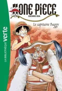 Couverture One Piece (roman), tome 2 : Le capitaine Baggy