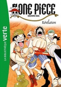 Couverture One Piece (roman), tome 4 : Révélation