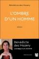 Couverture L'ombre d'un homme Editions Anne Carrière 2012