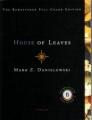 Couverture La maison des feuilles Editions Pantheon Books 2000