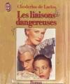 Couverture Les Liaisons dangereuses Editions J'ai Lu 1989