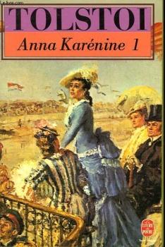 Couverture Anna Karénine, tome 1