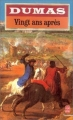 Couverture Vingt ans après Editions Le Livre de Poche 1992