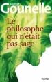 Couverture Le philosophe qui n'était pas sage Editions Kero 2012
