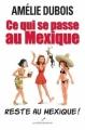 Couverture Ce qui se passe au Mexique reste au Mexique ! Editions Les éditeurs réunis 2012