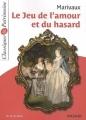 Couverture Le jeu de l'amour et du hasard Editions Magnard (Classiques & Patrimoine) 2012