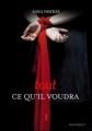 Couverture Tout ce qu'il voudra, tome 1 Editions Marabout (Red Velvet) 2012