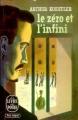 Couverture Le Zéro et l'Infini Editions Le Livre de Poche 1970