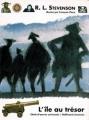 Couverture L'île au trésor Editions Gallimard  (Jeunesse - Chefs-d'oeuvre universels) 1994