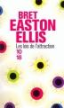 Couverture Les lois de l'attraction Editions 10/18 2012