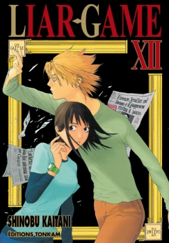 Couverture Liar game, tome 12