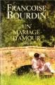 Couverture Un mariage d'amour Editions France Loisirs 2003
