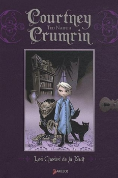 Couverture Courtney Crumrin, tome 1 : Courtney Crumrin et les choses de la nuit