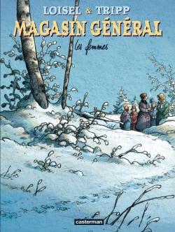 Couverture Magasin général, tome 8 : Les femmes