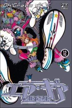 Couverture Air Gear, tome 12