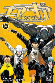 Couverture Air Gear, tome 14