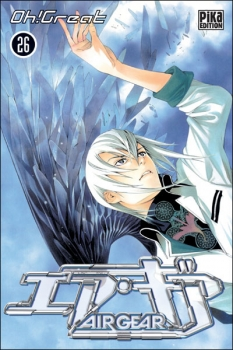 Couverture Air Gear, tome 26