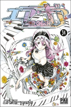 Couverture Air Gear, tome 34