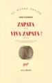 Couverture Zapata, Viva Zapata ! Editions Gallimard  (Du monde entier) 2003