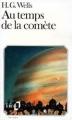 Couverture Au temps de la comète Editions Folio  1984