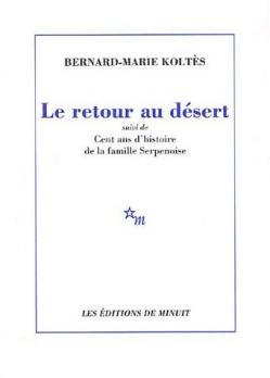 Couverture Le retour au désert