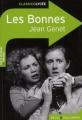 Couverture Les bonnes Editions Belin / Gallimard (Classico - Lycée) 2010