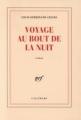 Couverture Voyage au bout de la nuit Editions Gallimard  (Blanche) 2009