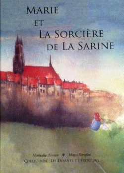 Couverture Marie et la sorcière de la Sarine