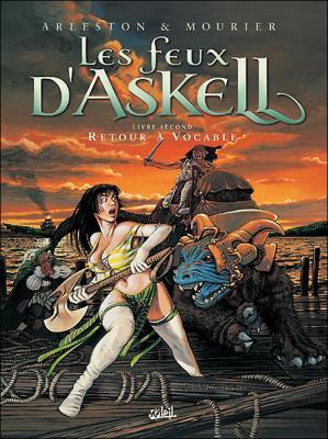 Couverture Les feux d'Askell, tome 2 : Retour à vocable