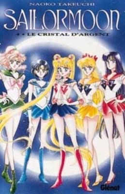 Couverture Sailor Moon, tome 04 : Le cristal d'argent